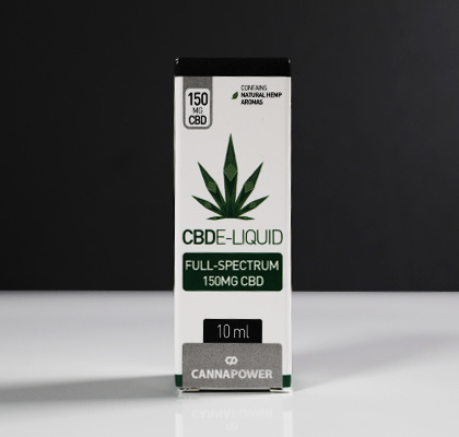 CBD Vape E-liquid - Natural Hemp